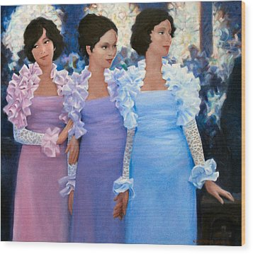 Brides Maids Wood Print