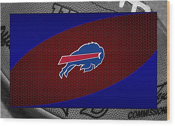 Buffalo Bills Wood Print by Joe Hamilton
