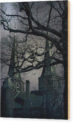 Castle Wood Print by Joana Kruse