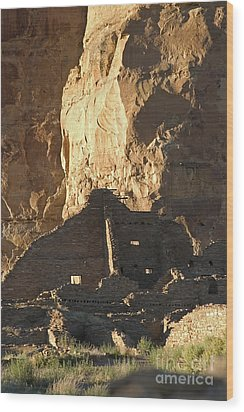 Chaco Canyon Wood Print by Steven Ralser