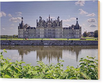 Chambord Castle Wood Print by Ioan Panaite