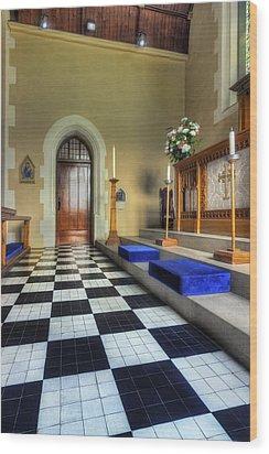 Christ Church Wood Print by Ian Mitchell