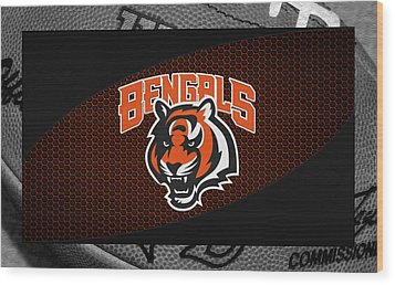 Cincinnati Bengals Wood Print by Joe Hamilton