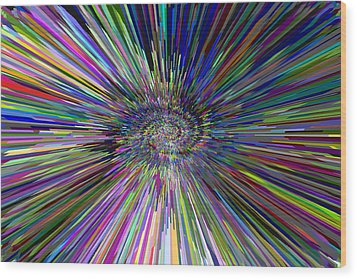 3 D Dimensional Art Abstract Wood Print