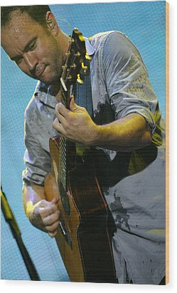 Dave Matthews Wood Print by Don Olea