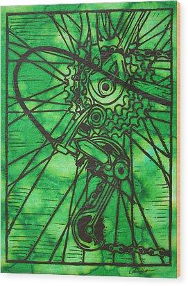 Derailluer Wood Print by William Cauthern
