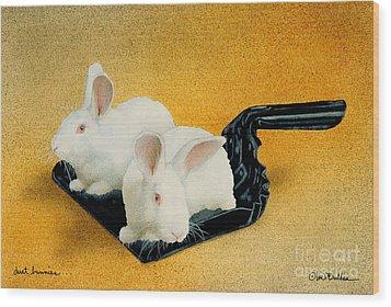 Dust Bunnies... Wood Print by Will Bullas