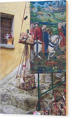 Eze Tapestry Wood Print