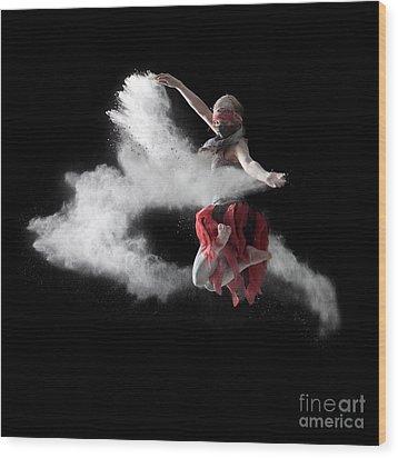 Flour Dancer Series Wood Print