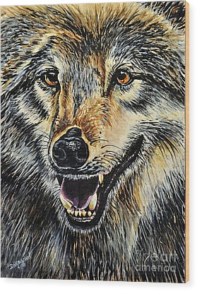 Hungry Wood Print by Doug Heavlow