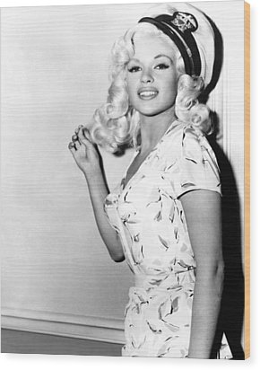 Jayne Mansfield Wood Print by Retro Images Archive