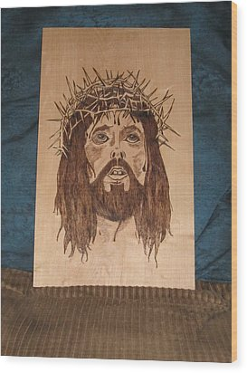 Jesus' Crucifixion Wood Print by N Gardner