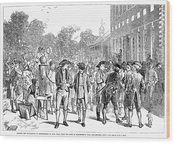 John Nixon, 1776 Wood Print by Granger