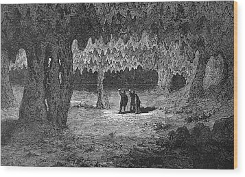 Kentucky Mammoth Cave Wood Print by Granger