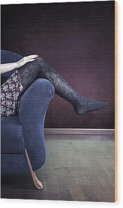 Legs Wood Print by Joana Kruse