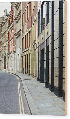 London Architecture Wood Print by Tom Gowanlock