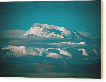 Mount Gurla Mandhata Wood Print by Raimond Klavins