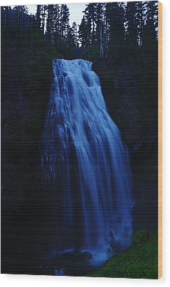Narada Falls Wood Print by Jeff Swan