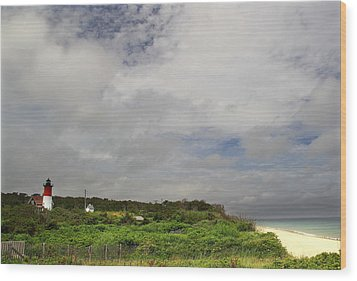 Nauset Lighthouse Wood Print by Andrea Galiffi