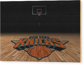 New York Knicks Wood Print by Joe Hamilton