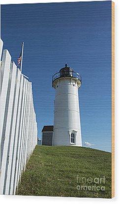Nobska Lighthouse Wood Print by John Greim