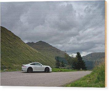 Porsche 911 Wood Print by Stephen Taylor