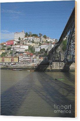 Wood Print featuring the photograph Porto by Arlene Carmel