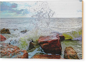 Quintana Jetty Wood Print