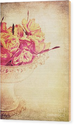 Romance Wood Print by Angela Doelling AD DESIGN Photo and PhotoArt
