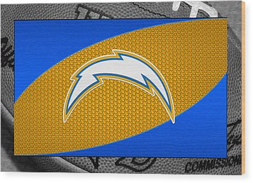 San Diego Chargers Wood Print by Joe Hamilton