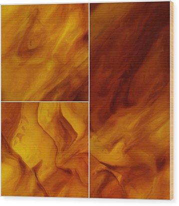 Serenity Wood Print by Tom Druin