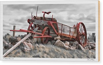 Stonewall Wagon Wood Print