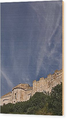 Tarquinia The Walls And The Apse Wood Print