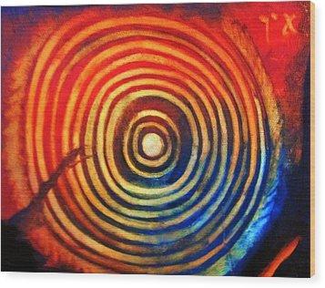 The Seeker Wood Print