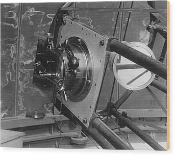 30-inch Telescope Focus, Helwan, Egypt Wood Print by Science Photo Library