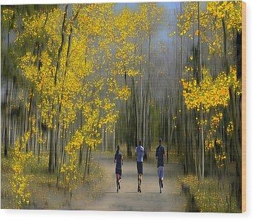 3067 Wood Print