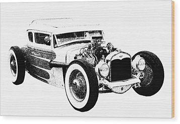 31 Model A Wood Print by Guy Whiteley