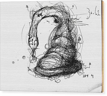 3161 Feeling Slow Wood Print by Mark M  Mellon