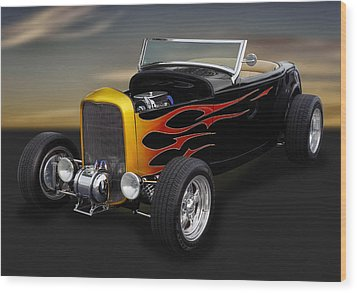 1932 Ford - Grounds 4 Divorce Wood Print
