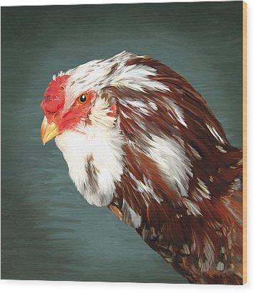 33. Orlov Head Wood Print