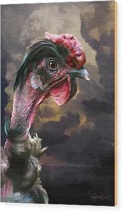 34. Turken Wood Print