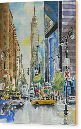 34th St. And 8th Ave Wood Print