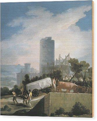 Goya Y Lucientes, Francisco De Wood Print by Everett
