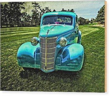 38 Chevrolet Classic Automobile Wood Print