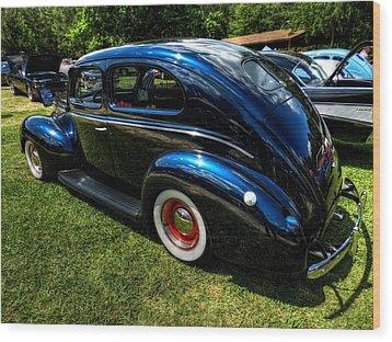 '39 Dodge Sedan 002 Wood Print by Lance Vaughn
