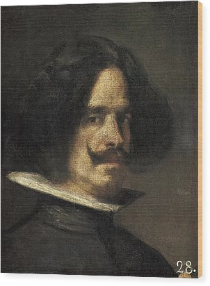 Velazquez, Diego Rodr�guez De Silva Wood Print by Everett