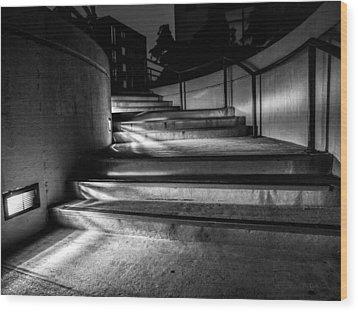 3am Portland Wood Print by Bob Orsillo