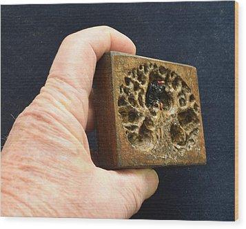 3d Aceo II Wood Print by Roger Swezey