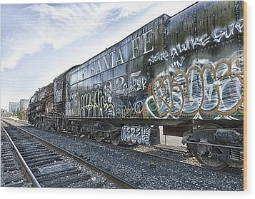 4 8 4 Atsf 2925 In Repose Wood Print