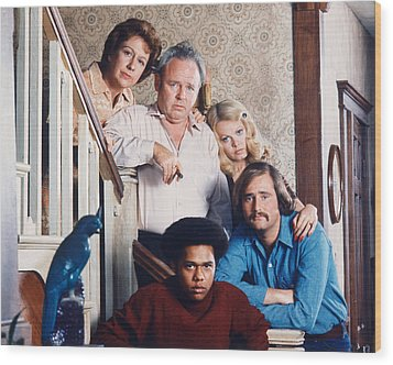All In The Family  Wood Print by Silver Screen